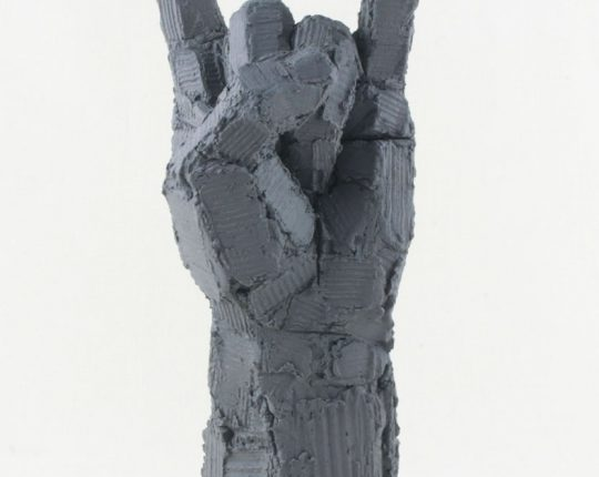 …another hand sculpture
