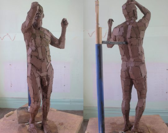 Finished Modelling Latest Sculpture
